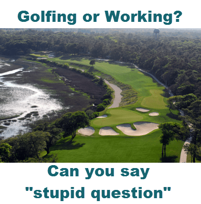 Golfing-or-Working-Can-you-say-stupid-question