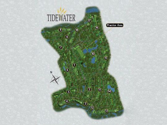 Golf Courses In South Carolina Map.Scorecard North Myrtle Beach Golf Courses Tidewater Golf Club