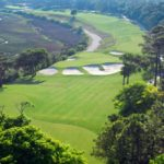 Myrtle beach golf at Tidewater number 4 hole