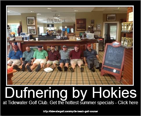 Dufnering by Hokies -North Myrtle Beach Golf_Tidewater Golf CLub