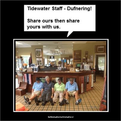 Dufnering by staff -North Myrtle Beach Golf_Tidewater Golf CLub