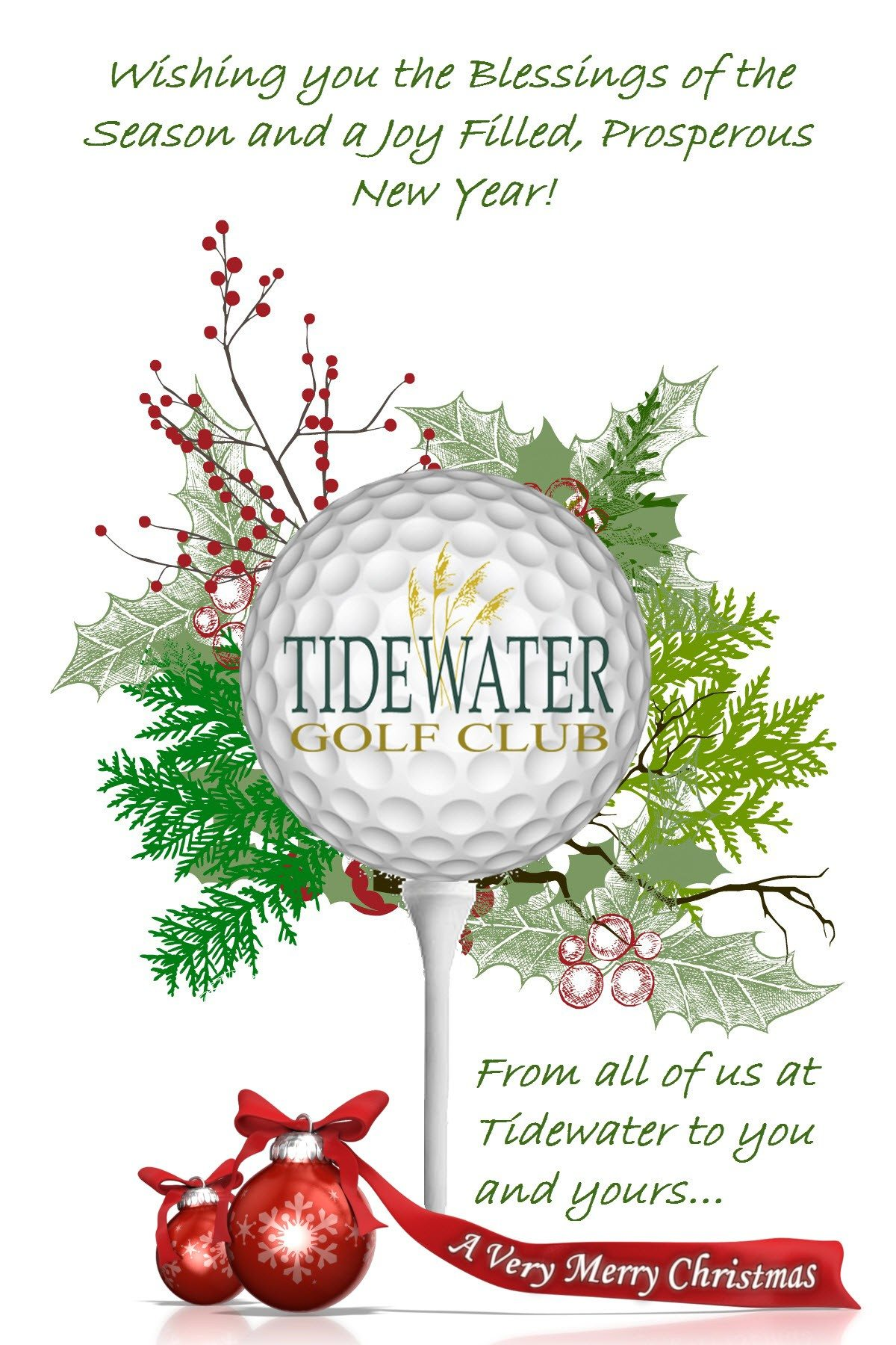 merry christmas from our family to yours myrtle beach sc tidewater golf club