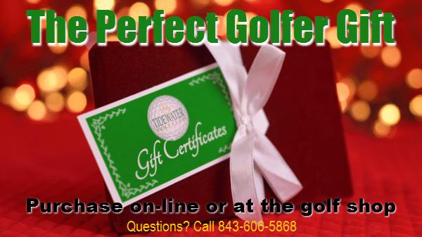 Golf Gift Certificate Myrtle Beach