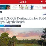 Myrtle Beach Golf Courses Celebrate Golf.com's Reader's Choice Awards