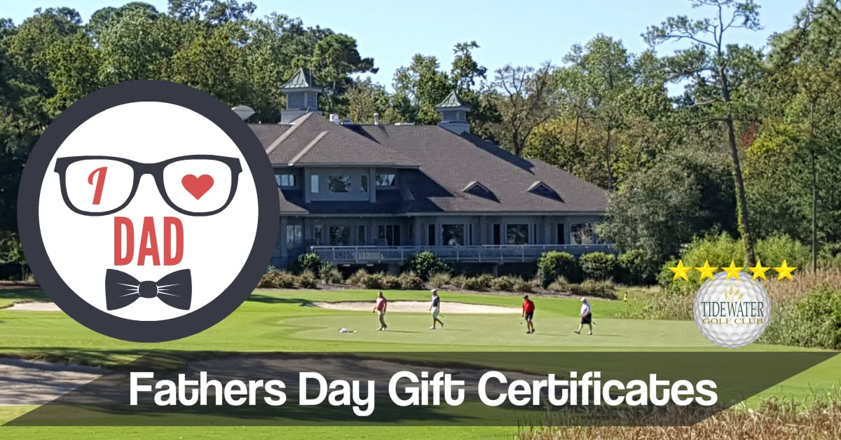Golf Gift Certificates | North Myrtle Beach Golf Courses - Tidewater ...