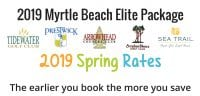 Spring Elite Golf PAckage- Myrtle Beach Best Golf Holiday Offer