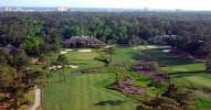18th and 9th green Tidewater Golf