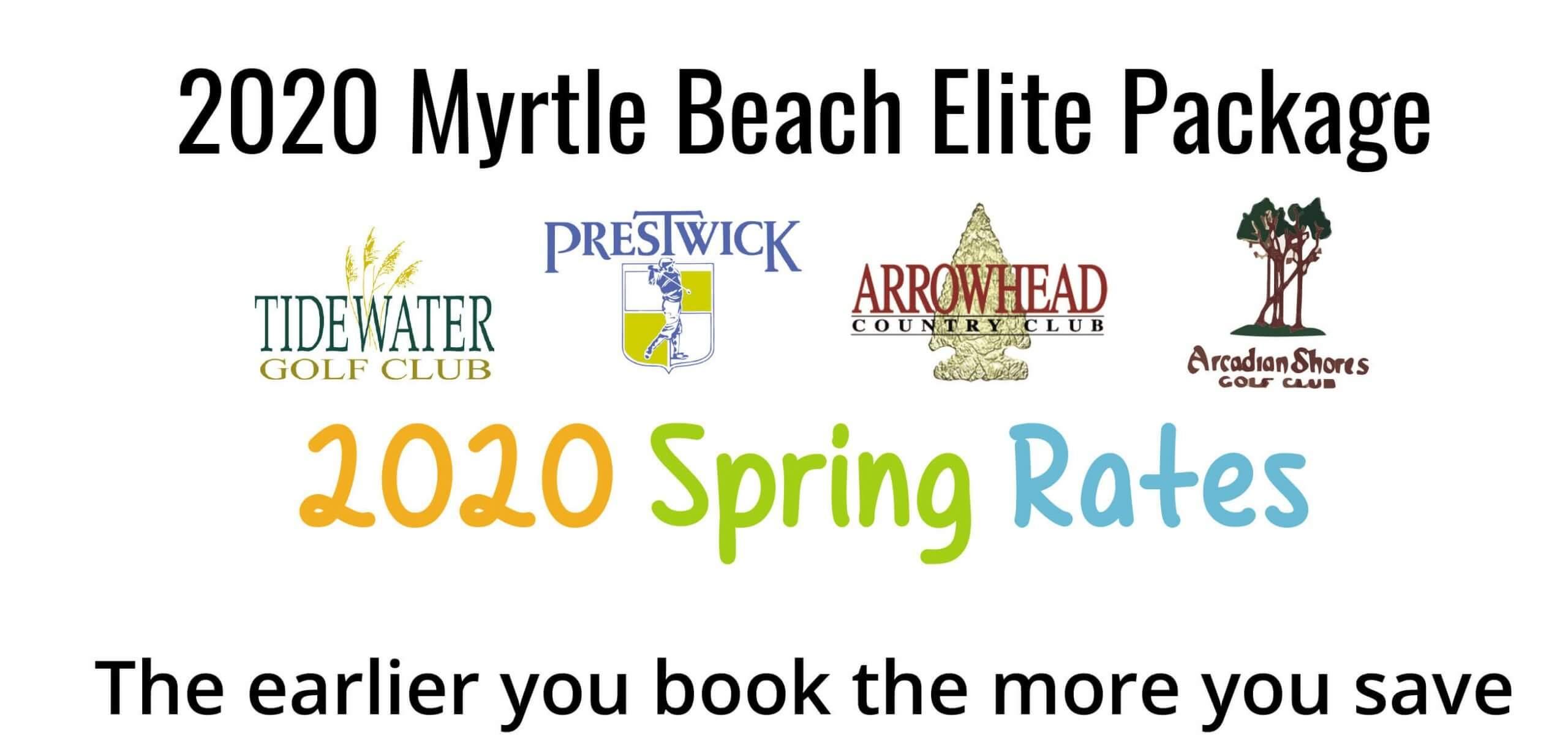 Myrtle Beach Spring-Elite-Package-2020